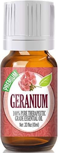 Geranium Essential Oil - 100% Pure Therapeutic...