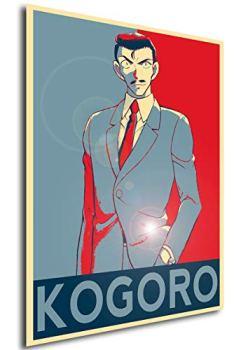 Instabuy Poster - Propaganda - Detective Conan - Kogoro Mori A4 30x21