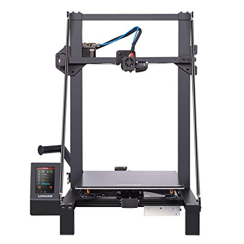 """LGT Longer LK5 Pro 3D Printer with Open Source, Tempered Glass Platform, Diagonal Rod, 4.3"""" Touch Screen, Resume Printing with Large Print Size 300x300x400mm"""