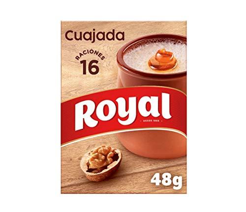 Royal Cuajada Tradicional Azucarada en Polvo 16 Raciones, 48