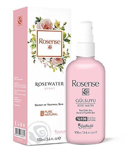 Rosense Rosenwasser 100% natürlich, vegan, 1er Pack (1 x 100 ml)