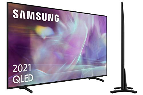 Samsung QLED 4K 2021 55Q60A - Smart TV de 55' con Resolución 4K...
