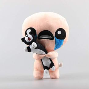 shenlanyu Juguete de Peluche 30cm The Binding of Isaac Plush Toys Afterbirth Rebirth Game Cartoon Isaac Plush Soft…