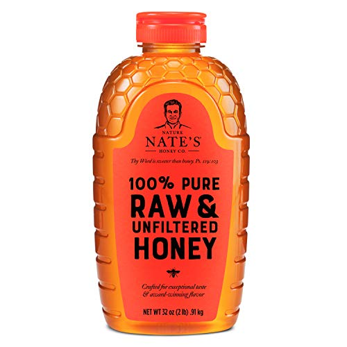 Nature Nate's 100% Pure, Raw & Unfiltered Honey;...