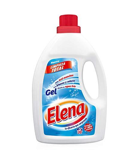 Elena Detergente para lavadora, adecuado para ropa blanca y