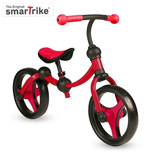 smarTrike Toddler Balance Bike 2,3,4,5 Years Old - Lightweight & Adjustable Kids Balance Bike, Red (105-0100), Small