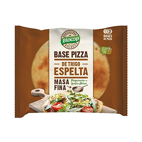 Biocop Base Pizza Masa Fina Espelta 390 Gr Envase De 390 Gra