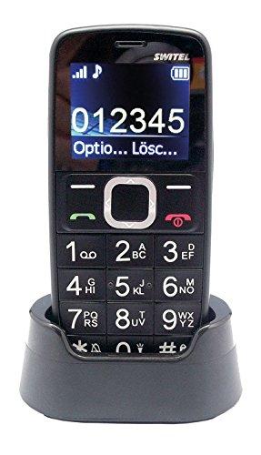 Switel M170 1.77' 76g Nero Telefono per Anziani Cellulare