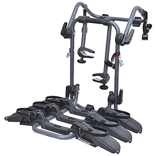 Portabici posteriore PERUZZO PURE INSTINCT 3 bici compatibile con KIA RIO dal 2005 al 2019 - MAX 45 kg - Anche per eBike e Fat Bike - OMOLOGATO
