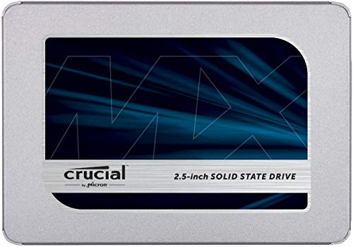 Crucial 250Go CT250MX500SSD1(Z) SSD interne MX500-jusqu'à 560 Mo/s (3D NAND, SATA, 2,5 pouces)