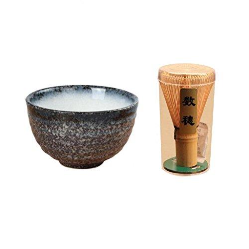 Homyl conjunto de chá verde matcha japonês, tigela de presente orgânico cerimônia cerimônia