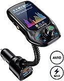 【Nouveau】 VicTsing Transmetteur FM Kit Bluetooth Voiture Adaptateur Voiture,...