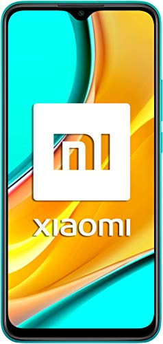 """Redmi 9 Samartphone - 4GB 64GB AI QUAD KAMERA 6.53"""" Full HD + display 5020mAh (typ) Grün [Globale Version]"""