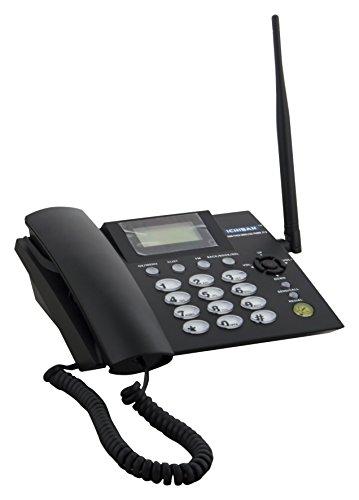 Ichiban Fixed Wireless Landline Phone, Black