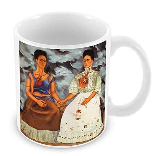 Taza de Cerámica Frida Kahlo pintura del artista Original del art 4