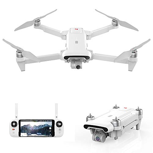 Goolsky FIMI X8 SE GPS RC Drone con Telecamera Scatto Notturno Motore brushless Drone 4K Gimbal a 3 Assi 8KM Distanza di Controllo Tracciamento Intelligente 35 Minuti Tempo di Volo RC Quadricottero