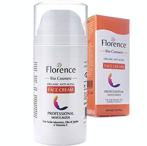Grande 100ml. Bio Crema Hidratante facial con Ácido Hialurónico, Retinol y Vitamin C....
