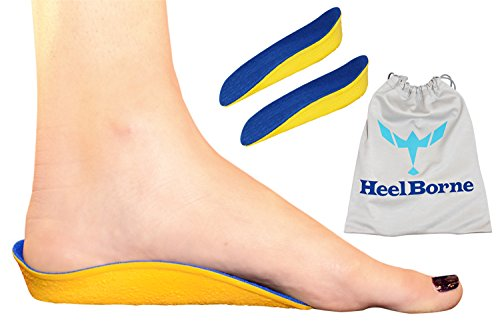 The FullBorne by Heelborne Ergonomic Height Increasing Insole For All Day Wear