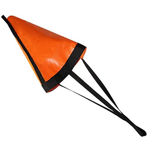 MOOPHOEXII 24/32/42/53-Inch Drift Sock Sea Anchor Drogue, High Visibility Orange Sea Brake for...