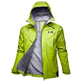 Helly Hansen Odin 9 Worlds Jacket Chaqueta, Hombre, 402 azid Lime, XL