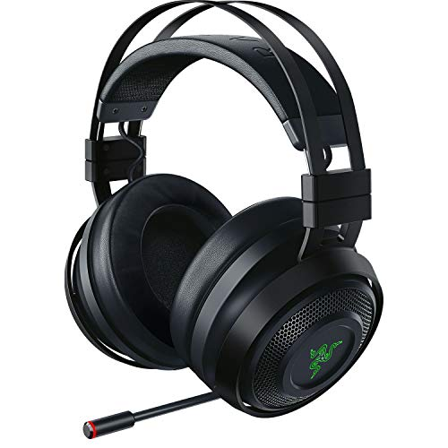 Razer Nari Ultimate ゲーミングヘッドセット 振動フィードバック THX360度立体音響 無線/有線 冷却ジェル...