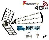 Loft et extérieure antenne TV numérique, 70Element Aerial pour Digital TV