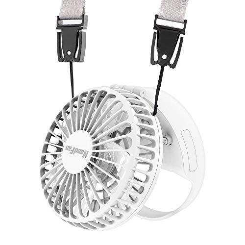 HandFan Mini ventilatore portatile ventilatore esterno con interruttore magnetico batteria...