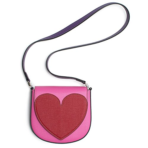 """41fBo2PMbkL Pink Heart Borsa Kids Gucci. Authentic with tags. Dustbag. Style 432683 Dimensions: 6 1/4"""" x 6"""" x 1 1/2"""",strap 16"""""""
