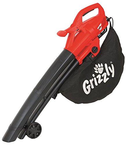 Grizzly Aspiratore Soffiatore Aspirafoglie ELS 26142 E, da 2.600W, 40L