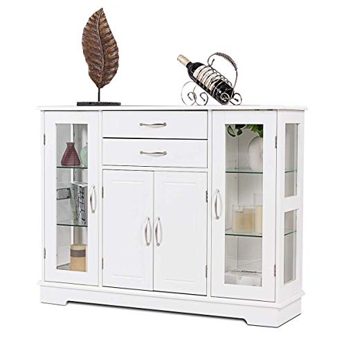 10 Best Storage Cabinet With Glass Doors