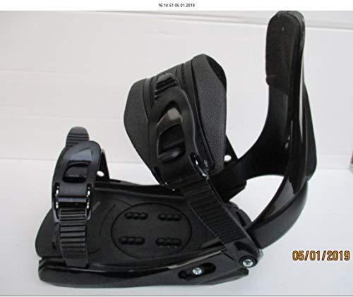 Factory Snowboard Bindung FB 11 schwarz für Schuhgrösse 38 bis 45 Neu