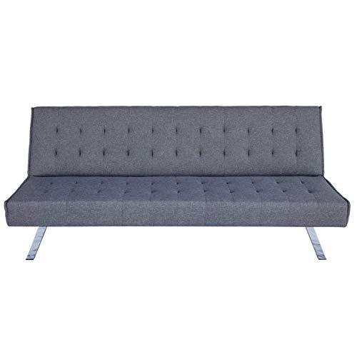 Divano letto 3 posti in tessuto, Dimensioni divano: 180 * 92 * 79, Spessore del materasso 15cm, disponibile in diversi colori Dimensioni letto: 180 * 108 * 38 (Salvia)
