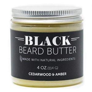 Detroit Grooming Co. - 4 oz. Beard Butter Double The Size - 'Black' Amber Bourbon - Beard Balm