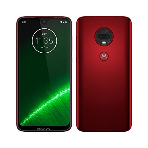 Motorola Moto G7 Plus - Smartphone Android 9, Pantalla 6.2'' FHD+ Max...