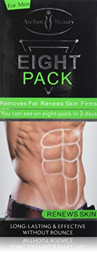 AICHUN BEAUTY Eight Pack For Men Strong Waist Manly Torso Smooth Lines Press Fitness Belly Burning Muscle Fat Remove Renews Skin Weight Loss Slimming Cream 170g 1