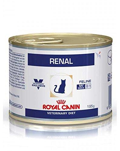 Royal Canin C-58401 Feline Renal Pollo Tarrina -195 gr