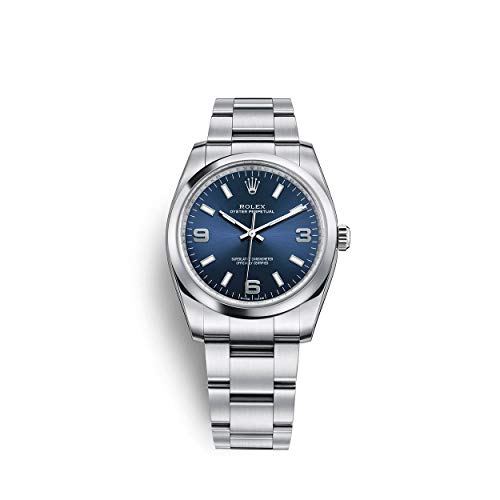 Rolex Oyster Perpetual 34 Stainless Steel / Oyster Bracelet / Blue Dial 1