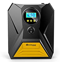Innovative and Compact Design with Fast Inflating Speed: GoMechanic Gusto T10 Digital Car Tyre Inflator is the best car air pump and features a compact and elegant design. This tyre inflator has a robust build, and the auto air compressor can inflate...