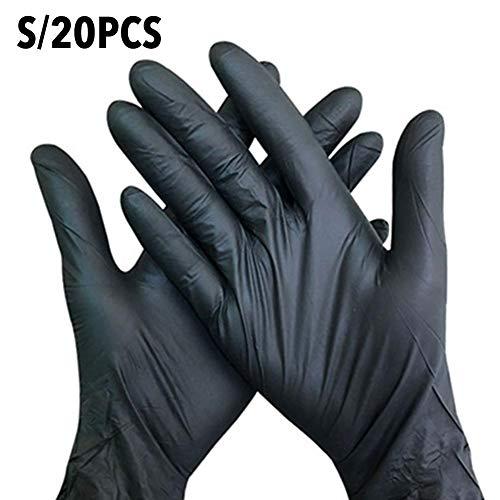 Guanti usa e getta in nitrile, senza polvere e lattice, per uso alimentare, taglia S/M, in...