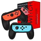Orzly Grips (Poignées) Compatible avec Nintendo Switch Joy-Cons pour...