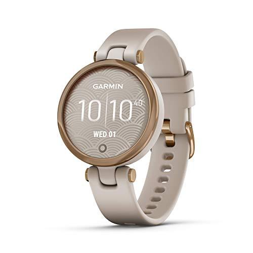 Garmin Lily Sport, Reloj Inteligente pequeño y Elegante - Beige...