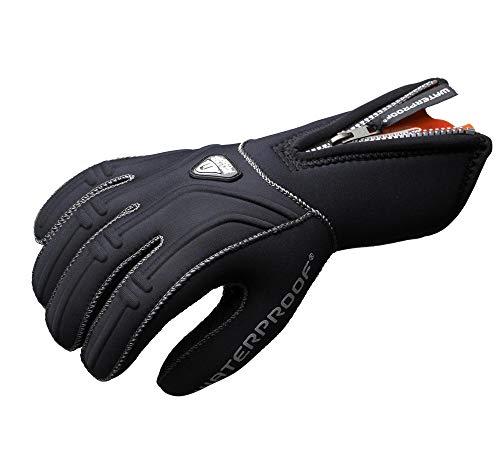 Waterproof G1 3mm 5-Finger Gloves, Large