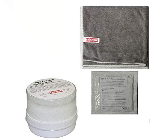 Franke Panno in microfibra antibatterico + pasta inox - pulisce sgrassa lucida acciaio inox di...