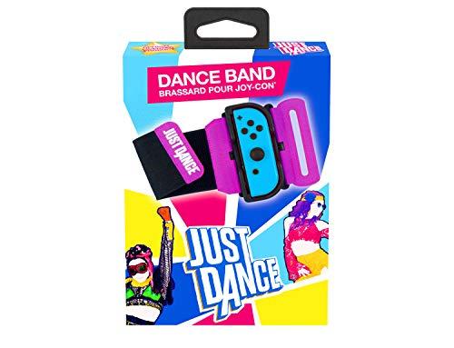Just Dance 2021 - Offizielles Tanzband - Armband, Wristband für Joycon Controller, Verstellbare Elastische Manschette mit Schlitz für Nintendo Switch Joy-Cons