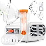 Jet Nebulizer, Tabletop Nebulizer Machine for Adults, Compressor Nebulizer with Tube, Adult & Children Mask...