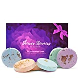 Cleverfy Aromatherapy Shower Steamers - Variety Set Of 6x Shower Bombs With Essential Oils For Relaxation. Shower Bomb Melts For Women Who Has Everything. Shower Steamer Tablets (Fizzies) For Home Spa