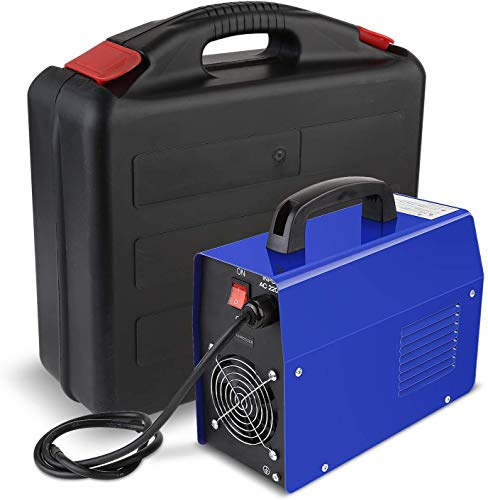 FIXKIT Saldatrice IGBT Portatile Elettrodo Corrente Continua, 220V, 20-200A Inverter, Saldatrice Elettrica Domestica CUSTODIA INCLUSA