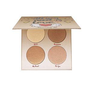 Highlighter Palette,Highlighter Makeup Palette, Glow Bronzer Highlighter Powder Kit,Face illuminator makeup palette 30
