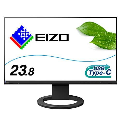 EIZO FlexScan EV2480-BK (23.8型/1920×1080/フレームレスモニター/アンチグレアIPS/疲れ目軽減/ブラック)