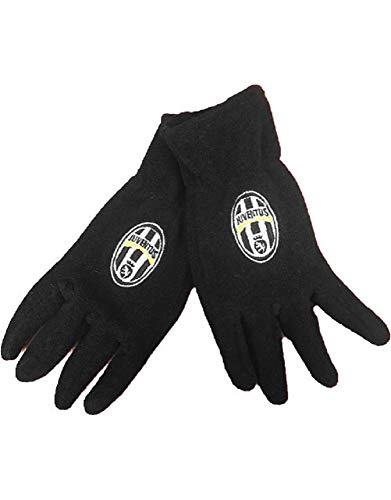 Perseo Trade Guanti Ragazzo Adulto Juve in Pile Abbigliamento Ufficiale Calcio Juventus PS 28459-S/M